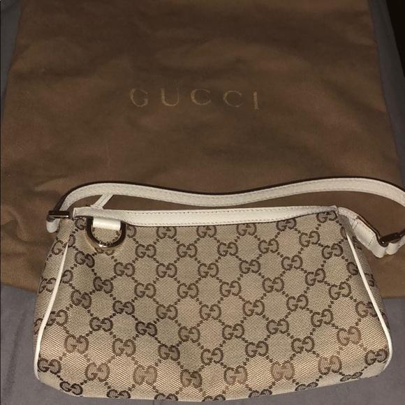 1e78c2262f8b Gucci Handbags - Gucci D ring pouchette